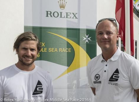 Martin Hartl und Harald Wolf