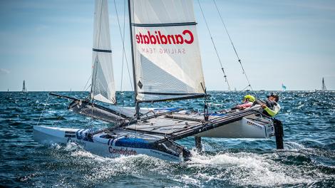 Nacra-17-Duo kehrt für Olympia-Vorbereitung nach Sizilien zurück